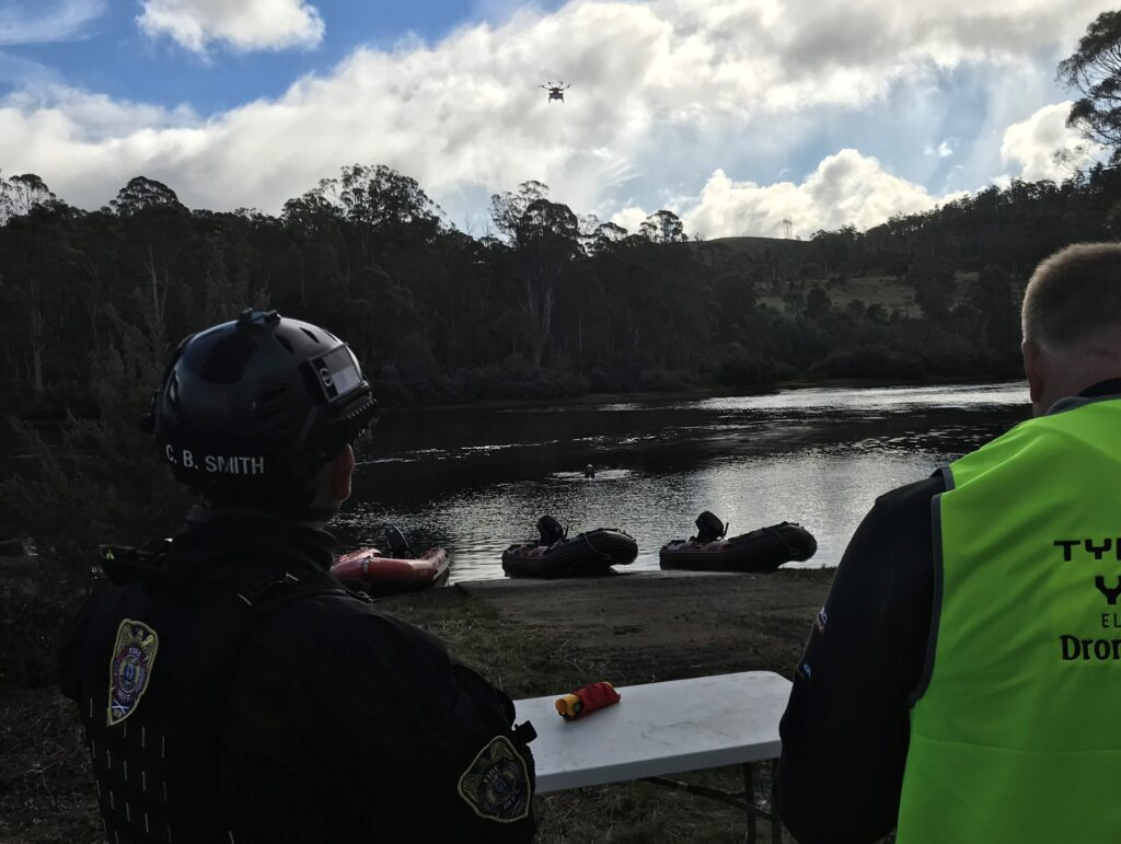 Search and Rescue with Drones
