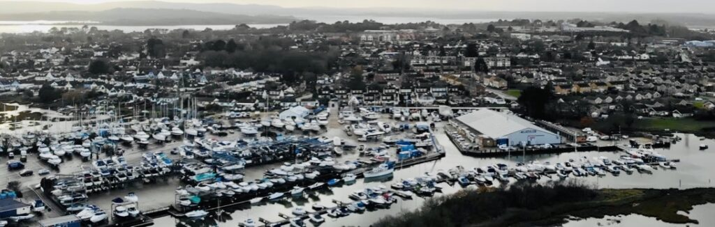 Cobbs Quay drone photography